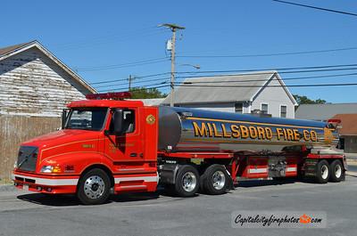 Millsboro Tanker 83: 1998 Volvo/4 Guys 850/6000