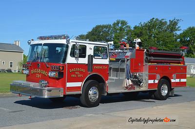 Dagsboro Engine 73-1: 1983 Sutphen 1750/1000/15