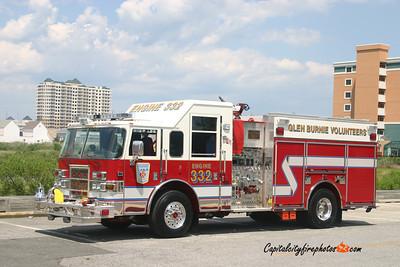 Glen Burnie (Anne Arundel Co.) Engine 332: 2007 Pierce Dash 1500/750