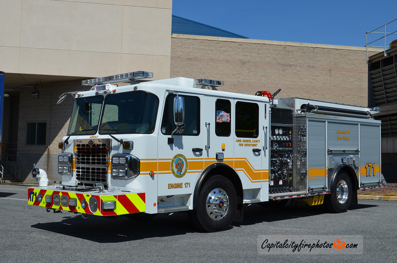 Anne Arundel County (Arnold Station) Engine 171: 2014 Spartan ERV Metro Star 1250/750/30