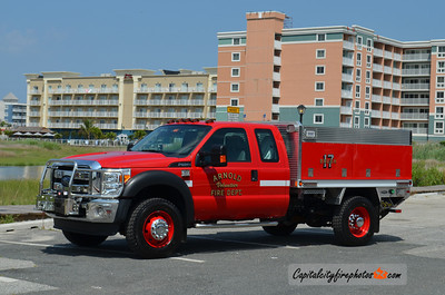Arnold Brush 17: 2013 Ford F-450/Fire 1 100/250