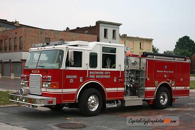 Baltimore Engine 21: