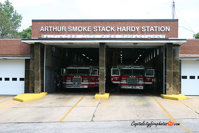 Baltimore Engine 13 and Truck 16 station