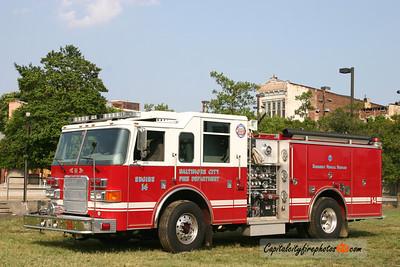 Baltimore Engine 14: 2007 Pierce Enforcer 1500/500