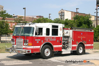 Baltimore Engine 13: 2003 Pierce Enforcer 1250/500