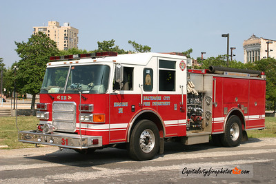 Baltimore Engine 31: 2003 Pierce Enforcer 1250/500