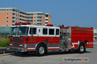 Arcadia Engine 432: 1999 Seagrave