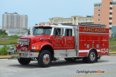 Arcadia Engine 434: 1994 International/PA Fire Apparatus 1000/500