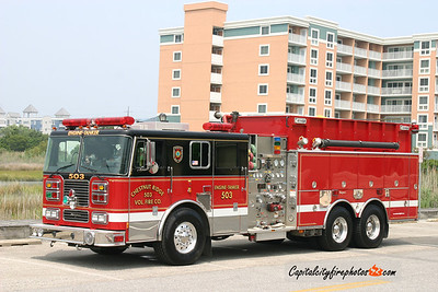 Chestnut Ridge Engine Tanker 503: 2000 Seagrave 1750/2500/30
