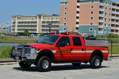 Federalsburg Brush 110: 2003 Ford F-350/Morean Fire Equipment 500/250/10