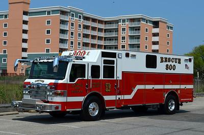 Denton Rescue 300: 2009 Pierce Velocity