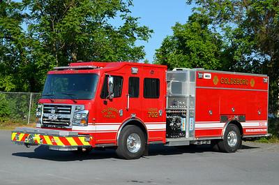 Goldsboro Squad 702: 2012 Spartan/Rosenbauer Commander 1250/1000/30