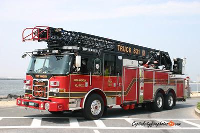Joppa-Magnolia Truck 831: 2010 Pierce Arrow XT 100'