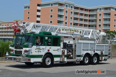Whiteford Ladder 6: 2011 Spartan/Smeal 2000/500 105'