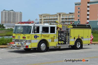 Ellicott City Engine 83: 1993 Pierce Arrow 1250/500 (X-Falls Township, PA)