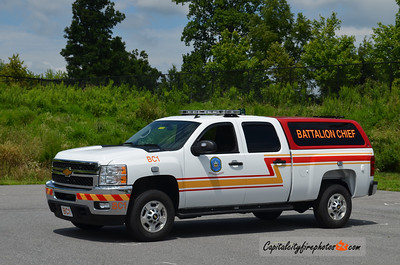 Howard County Fire & Rescue Battalion Chief 1: 2012 Chevrolet