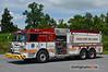 Howard County Fire & Rescue (Glenwood) Tanker 13: 2009 Pierce Arrow XT 1000/3000/100A/400B