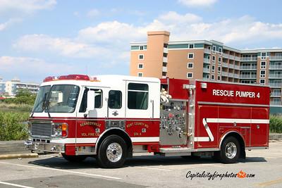 Kennedyville Rescue Pumper 4: 1999 American LaFrance 1500/800/40A/20B