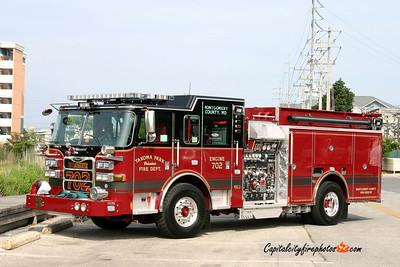 Takoma Park Engine 702: 2011 Pierce Arrow XT 1500/750/50