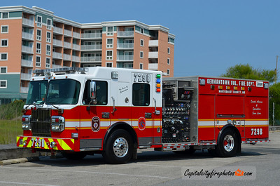 Germantown Engine 729B: 2009 Spartan Gladiator/Crimson 1500/750