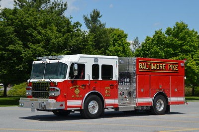Baltimore Pike Fire Co. (Allegany Co.) Engine Rescue 4-1: 2018 Spartan Gladiator/4 Guys 1250/750