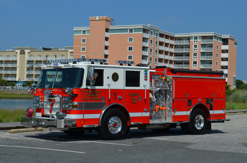 Potomac Heights (Charles Co.) Engine 72: 2013 Pierce Arrow XT 1750/750