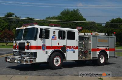 Oxon Hill Engine 821: 1991 Seagrave 1250/500