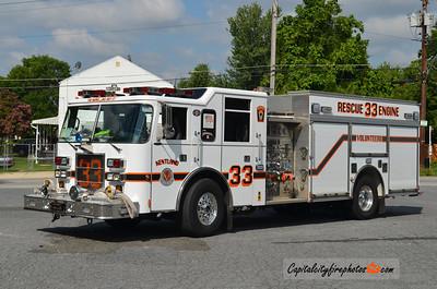 Kentland Rescue Engine 33: 2000 Pierce Dash 1250/500