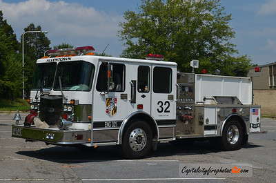 Allentown Road Engine 832B: 2000 Spartan/Crimson 1200/300