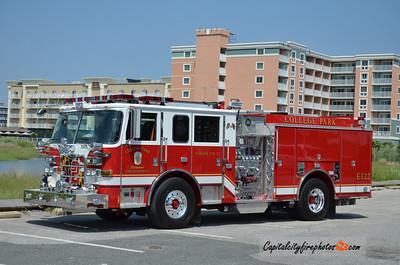 College Park Engine 122: 2012 Pierce Arrow XT 2000/500