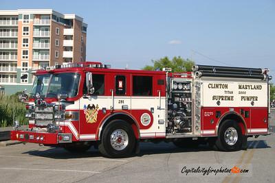 Clinton Engine 251: 2007 Pierce Dash 2000/500