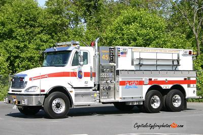 Upper Marlboro, MD (Marlsboro VFD) Tanker 45: 2005 Freightliner/Summit 1000/3000