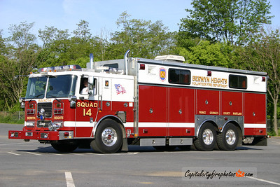 Berwyn Heights Rescue Squad 14: 2004 Seagrave/Marion