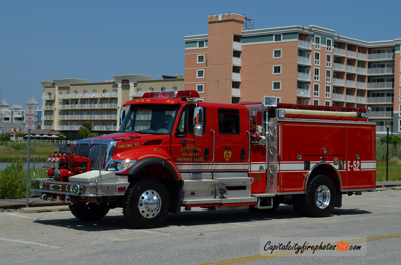 Cordova Engine 52: 2003 International/Pierce 1250/1000