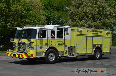 "Williamsport Rescue Engine 2: 2011 Pierce Arrow XT ""PUC"" 1500/750/30"