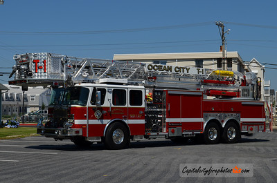 Ocean City Tower 1: 2013 E-One Cyclone II 100'