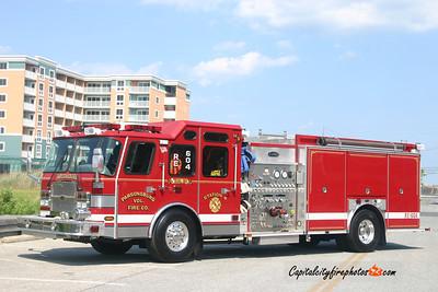 Parsonsburg Rescue Engine 604: 2005 E-One Cyclone II 1750/1000/30B
