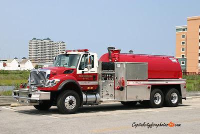 Pocomoke City Tanker 1: 2009 International/Fire-O-Vac 500/3600