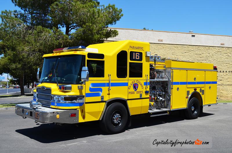 Clark County, NV Engine 16: 2009 Pierce Quantum 1500/500