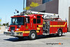 Las Vegas, NV Engine 1: 2001 Pierce Quantum 1500/500 50' Snozzle