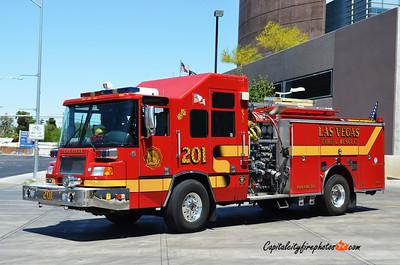 Las Vegas, NV Engine 201: 2000 Pierce Quantum 1500/500