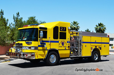 Clark County, NV Engine 27: 2005 Pierce Quantum 1500/500