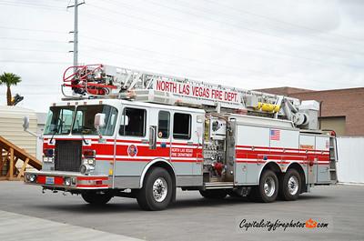 North Las Vegas, NV Reserve Truck 54: 1994 Spartan/Smeal 1500/500 75'