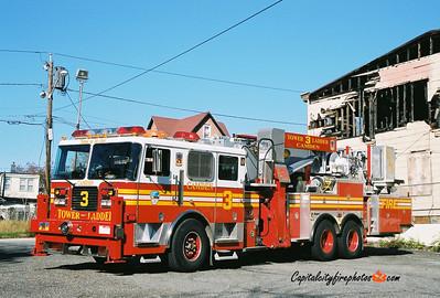 Camden Tower Ladder 3: 2003 Seagrave/Aerialscope 75'