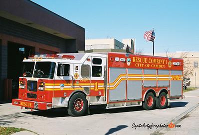 Camden Rescue 1: 2003 Seagrave/SVI