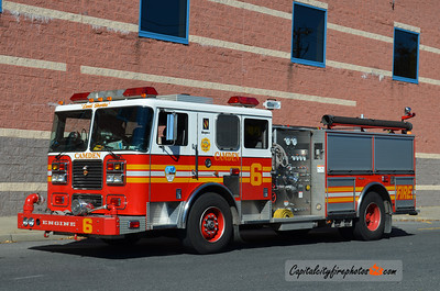 Camden Engine 6: 2003 Seagrave 1250/500