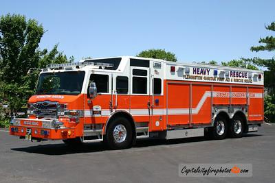 Flemington-Raritan Area Rescue Squad (Hunterdon Co.) Rescue 49: 2010 Pierce Velocity
