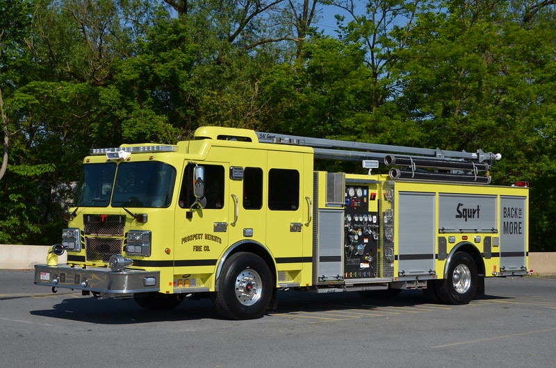 Prospect Heights (Mercer Co.) Squirt 31: 2016 Smeal Sirius/LTC 2000/750/30B 54' Squrt