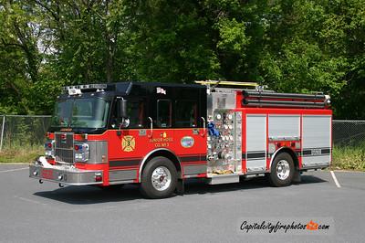 Lakewood (Ocean Co.) Engine 6631: 2006 Spartan Gladiator/Marion 1500/750