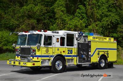 Mechanicstown (Orange Co.) Engine 20: 2014 Seagrave Marauder II 1500/750